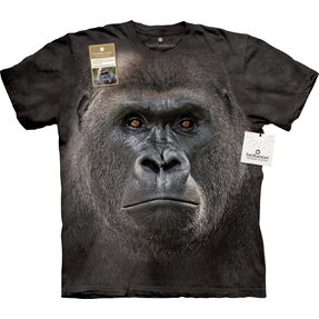 T-Shirt Grosses Gorillagesicht