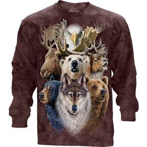 Tricou cu mânecă lungă Polar Wildlife