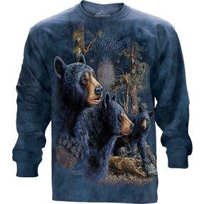 Tricou cu mânecă lungă  Find 13 Black Bears