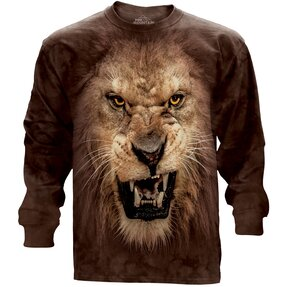 Big Face Roaring Lion  Adult