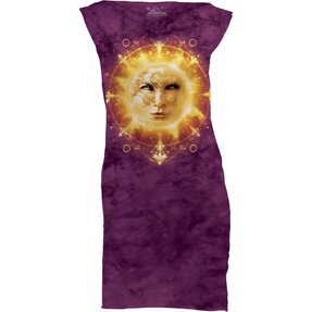 Sun Face  Mini Dress