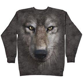 Hoodie Wolf Face