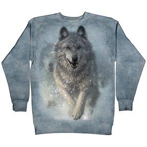 Sweatshirt Snow Wolf
