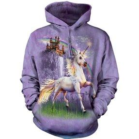 Hanorac cu glugă Unicorn Castle Adult