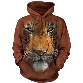 Sweatshirt mit Kapuze 3D Tiger