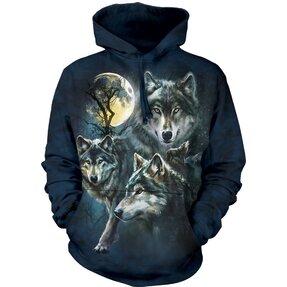 Hanorac cu glugă Haită de lupi