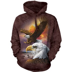 Hoodie Two Eagles