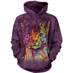 Sweatshirt mit Kapuze Russo Abessinische Katze