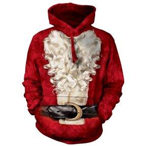 Hoodie Santa's Beard