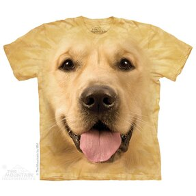 T-Shirt Gesicht Golden Retriever