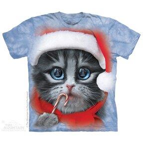 Tričko Tvář Vánočního koťata