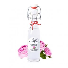 Damašská růže - organická květová voda