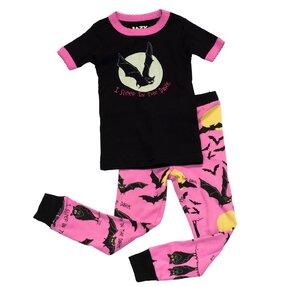 Dětské Dvojdílne Pyžamo Já v Noci Spím - Dívčí