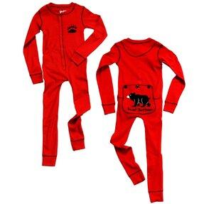 Kinder Einteiliger Pyjama - Bärentatze - Kind