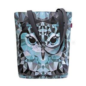 Taška na rameno Sunny - Sivá sova