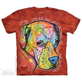 Tričko Psi mluví