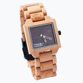Dřevěné hodinky Sirius
