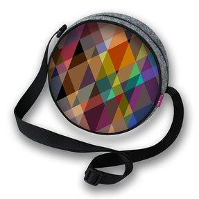 Runde Handtasche Twist - Farben