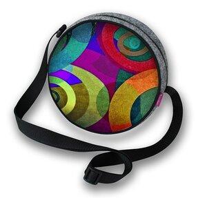 Guľatá kabelka Twist - Orbit