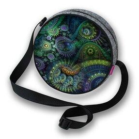 Runde Handtasche Twist - Nirvana