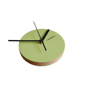 Wall Clock Kloki XS - green