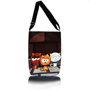 Cross body táska Easy - Az utca macskái