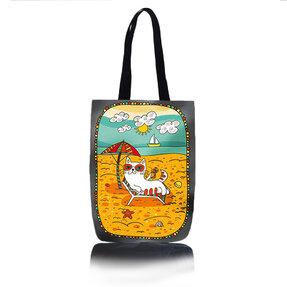 Taška na rameno Shop - Na pláži