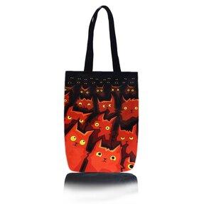 Schultertasche Shop - Katzen im Kino
