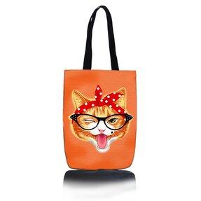 Taška na rameno Shop - Si kočka