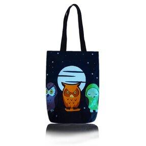 Taška na rameno Shop - Sovy v noci