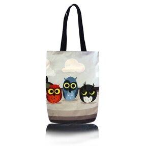 Taška na rameno Shop - Tri sovy