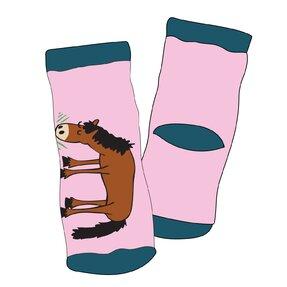 Koník Herkules-Růžové Ponožky - Batole
