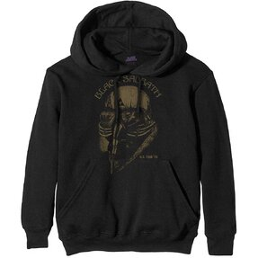Sweatshirt mit Kapuze Schwarz Black Sabbath: US Tour '78