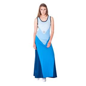 Női hosszú kék pamut ruha
