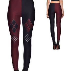 Damen Leggings Elastisch Harley