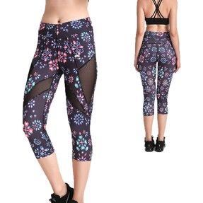 Női sportos capri leggings hálós résszel Ékszerek