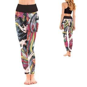 Női sportos elasztikus leggings Garden of Eden