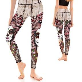 Női sportos elasztikus leggings Muertos