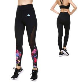 Női sportos elasztikus leggings Paint Splatter