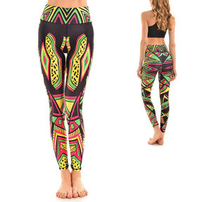 Női sportos elasztikus leggings Reggae