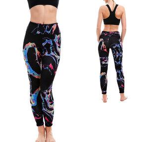Női sportos elasztikus leggings A színek világa