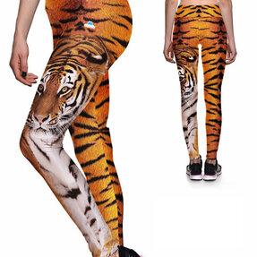 Dámske športové elastické legíny Tiger