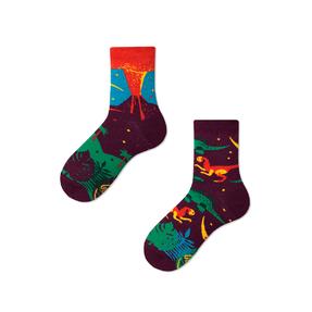 Dětské veselé ponožky Dinosauři
