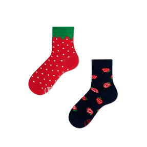 Dětské veselé ponožky Jahody