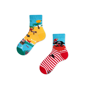 Detské veselé ponožky Ostrov pirátov