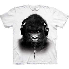 Fehér póló DJ Gorilla