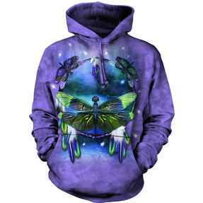 Hoodie Dreamcatcher with Dragonfly