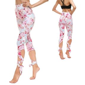 Fitness Leggings mit Bindung Soft Butterfly