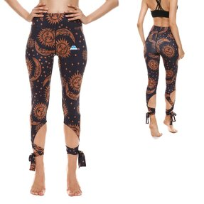 Fitness Leggings mit Bindung Sun And Moon