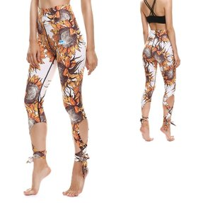 Fitness Leggings mit Bindung Sunflower